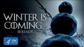 ecard-winteriscoming-snowman
