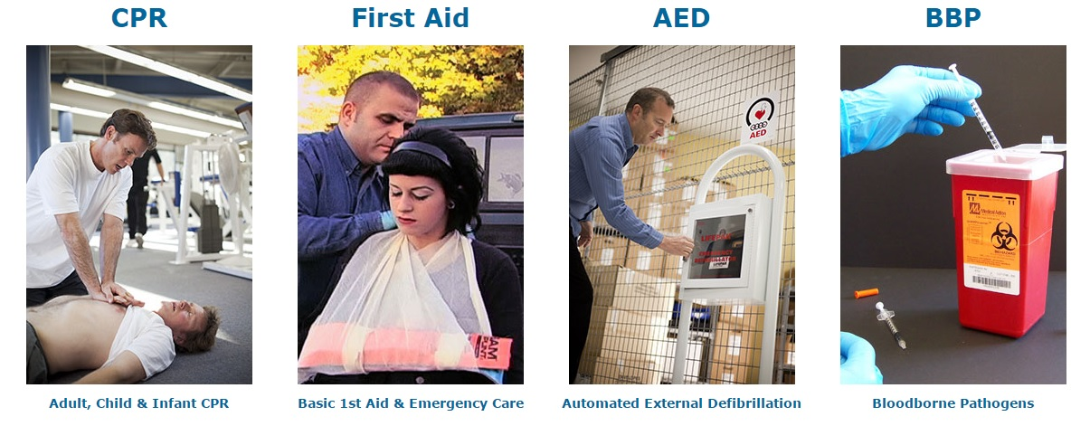 We've been offering First Aid Training, CPR Training, and over 100 OSHA Safety Training topics for almost a quarter century now... We specialize in Training - hence our name. So how may we assist you today? Want to check out our courses?