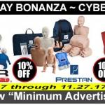 10% OFF Black Friday Doorbuster / Cyber MonDeal!